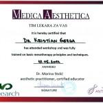 Gerga Kristian - Mezoterpaija sertifikat