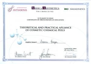 Suzana Gerga - Piling sertifikat