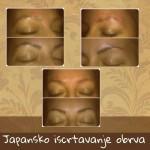 Iscrtavanje obrva japanskom metodom